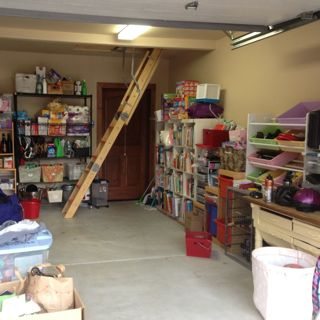 Garage after the sale