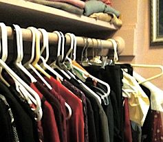A typical closet