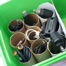 Ever wonder how to wrangle your cable clutter?