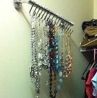 There are all sorts of creative ideas for displaying your jewelry on Pinterest