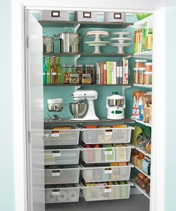 Your pantry can be a place of order and containment