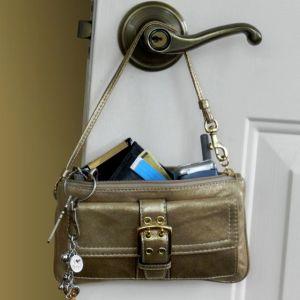 keys and bag