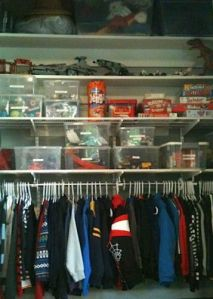 closet done with Elfa