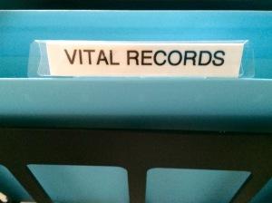Vital Records  - 1