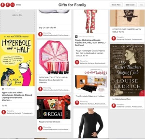Pinterest Board_Family Gifts