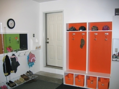 Garage Mud Room
