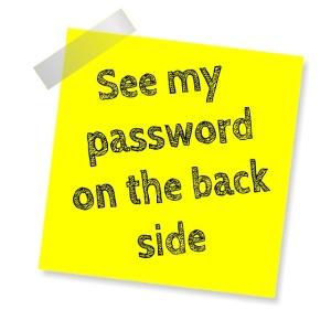 password-post-it