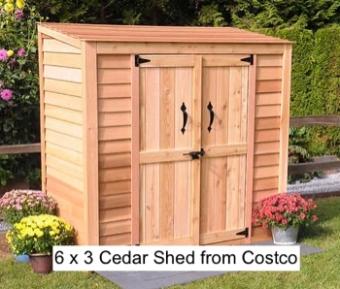 6 x 3 https:::www.costco.com:6'-x-3'-Cedar-Garden-Storage-Shed.product.100283002.html