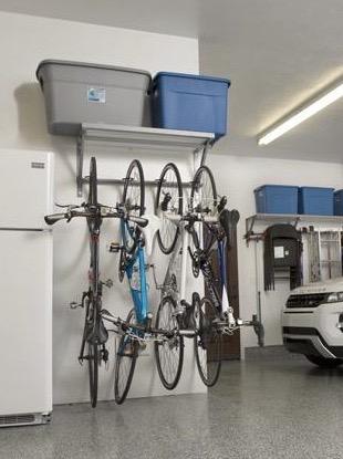 Monkey Bars Bike Rack solution