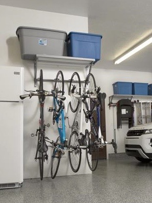 Monkey Bars Bike Rack solution